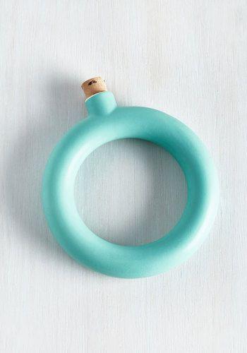 Bangle With an Angle Flask Bracelet, @ModCloth