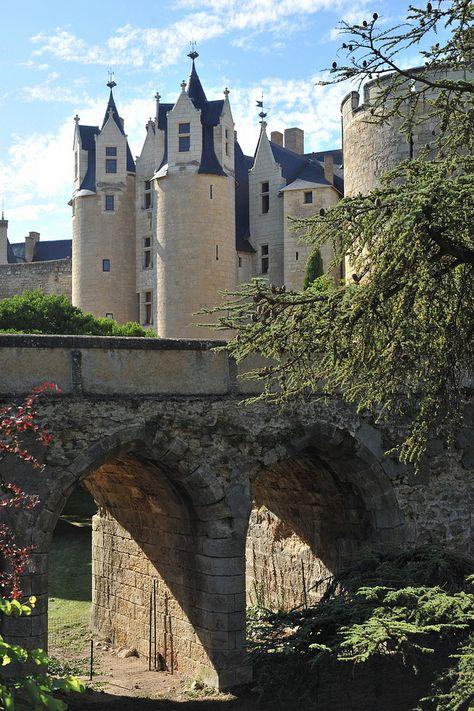 Château de Montreuil-Bellay, Montreuil-Bellay, Saumur, Maine-et-Loire, Pays de la Loire, France