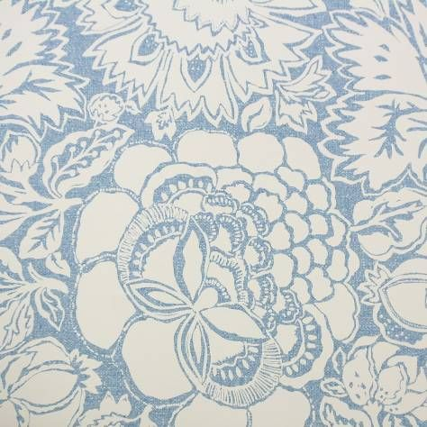 Sanderson Poppy Damask Wallpaper