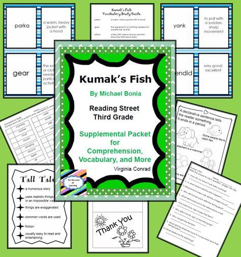 Kumak S Fish Reading Street Supplemental Packet Read