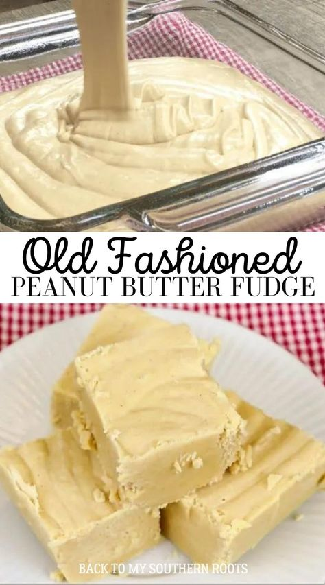 Peanut Butter Fudge, Peanut Butter Recipes, Yummy Treats, Delicious Desserts, Sweet Treats, Holiday Baking, Christmas Baking, Candy Recipes, Dessert Recipes