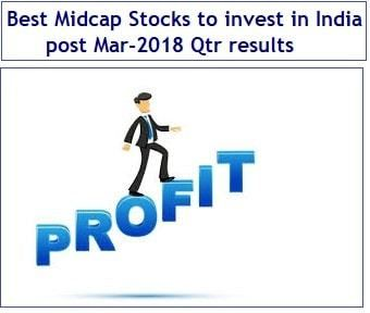 Best Midcap Stocks To Invest Post Mar 2018 Qtr Results