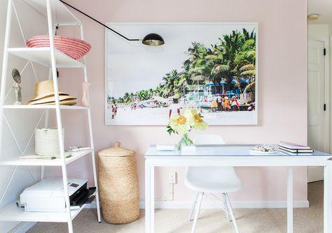 Office Goals - A Creative Director's Modern-Meets-Global Beach House - Photos