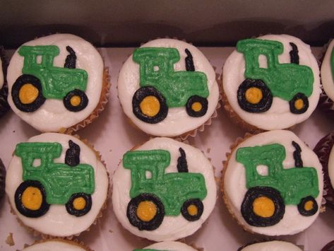 cupcake cake tractor | Tractor Cupcakes - Esquire Confections, LLC