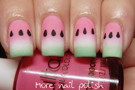 40 Great Nail Art Iteas - Food | More Nail Polish | Bloglovin'