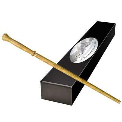 HARRY POTTER Bacchetta Lucius Malfoy Magic Wand Noble Collection