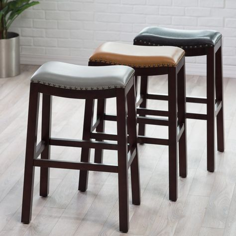 Surprising Belham Living Hutton Nailhead Bar Stool Get Designer Uwap Interior Chair Design Uwaporg