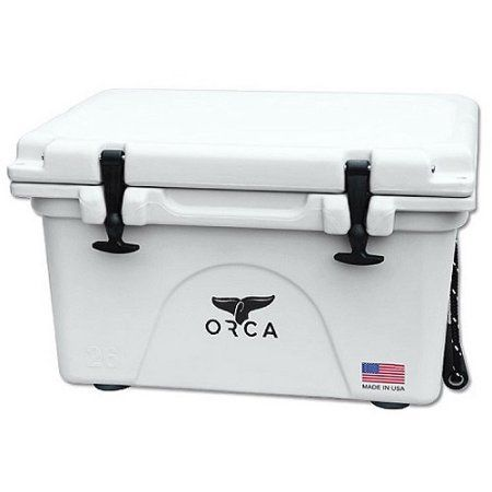 Orca Hard Sided Classic Cooler White 40 Quart Orca Cooler Orca Cooler