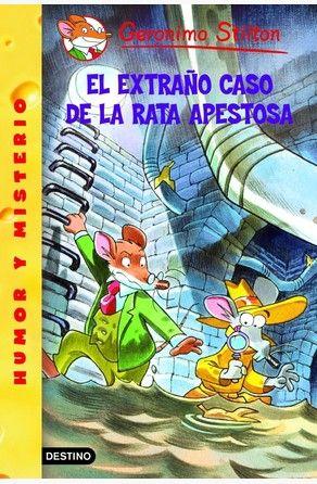 El Extraño Caso De La Rata Apestosa Por Geronimo Stilton Gerónimo Libros En Línea Libros Para Niños