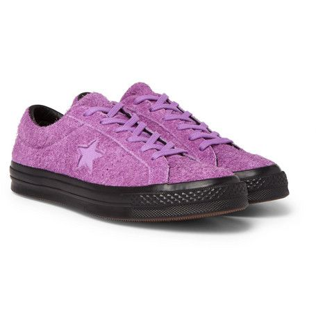 CONVERSE ONE STAR OX BRUSHED-SUEDE