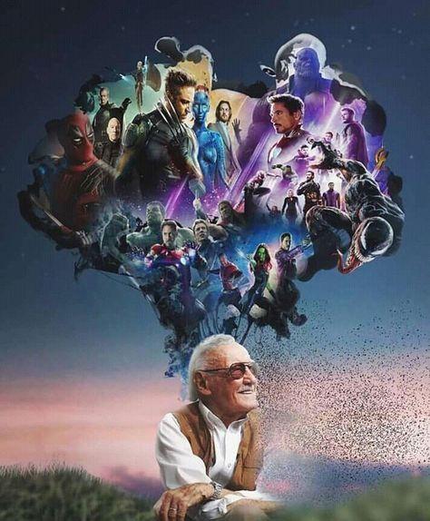 Stan Lee siempre estarás en nuestros corazones ,  #corazones #En #estaras #Lee ... ,  #corazones #En #estaras #Lee #nuestros #siempre #Stan