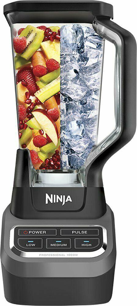 Ninja Professional 72oz Countertop Blender With 1000 Watt Base