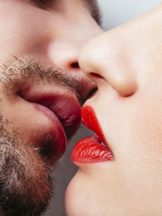 Single kiss the lip How to