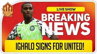 Ighalo Signs For Manchester United In A Stunning Transfer Deadline Day Signing For United In 2020 Manchester United Transfer News Manchester United Fans Transfer News