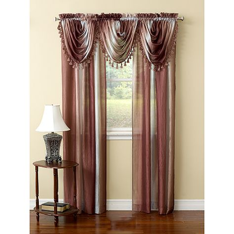 Ombre Window Scarf 50x144 Curtains For Sale