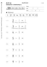 9 best Kumon work sheets images on Pinterest | School, Math and Books