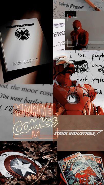 Marvel ↝ lockscreens