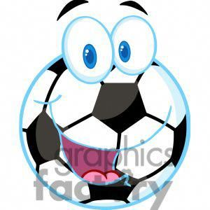 102548 Cartoon Clipart Cartoon Soccer Ball 384019 Vector Clip Art Soccer Ball Soccer Cartoon Clip Art