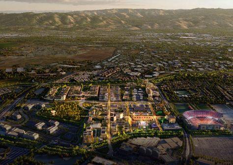 Foster   Partners designs new neighbourhood for Santa Clara
