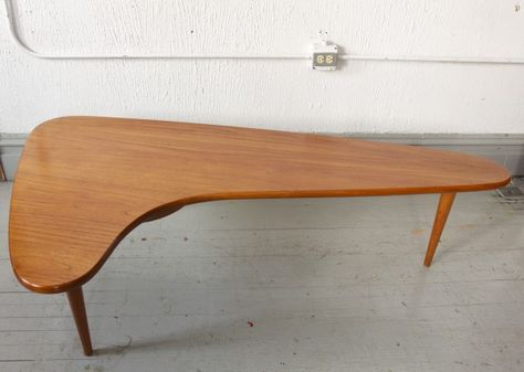 Mid C Modern Boomerang Coffee Table With Images Mid Century