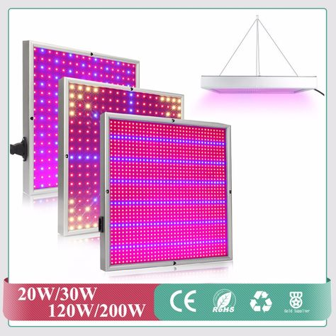 Full Spectrum 20w 30w 120w 1365pcs Smd2835 Grow Light 660nm 460nm Grow Leds For Hydroponic Lightings And Hydroponics Sys Grow Lights Led Grow Lights Grow Lamps