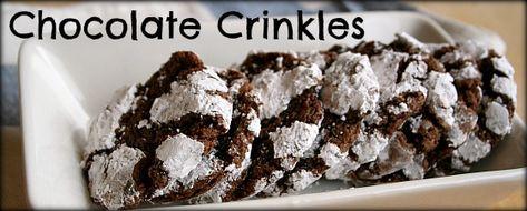 Chocolate Crinkles,