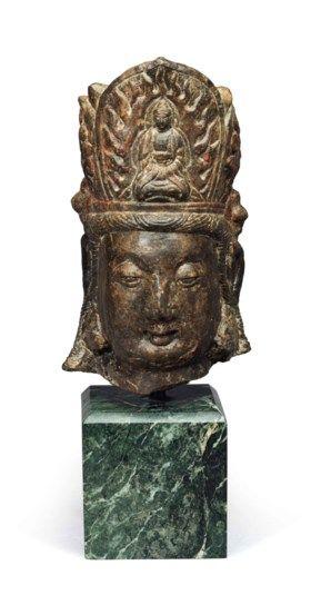Dali Kingdom Ceramic Kwan Yin Christies Auction