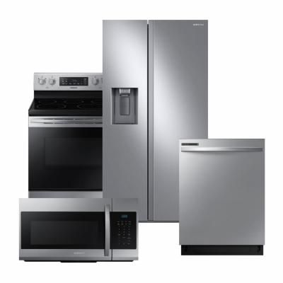 Samsung 24 In Top Control Dishwasher With Stainless Steel Interior Door And Plastic Tall Tub I Side By Side Refrigerator Top Control Dishwasher The Home Depot