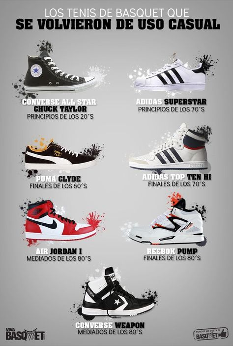 Mens boots fashion, Nike shoes, Nike shoes jordans, Sneakers fashion, Tenis shoes, Trendy sneakers - Los tenis que se volvieron de uso casual por Viva Basquet  -  #Mensboots #fashion