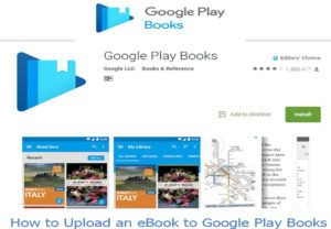 Google Play Books How To Upload An Ebook To Google Play Books Play Book Ebook Facebook Platform