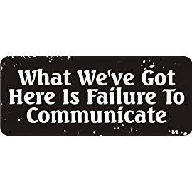 Failure To Communicate Hard Hat Biker Helmet Sticker Bs576 3 3
