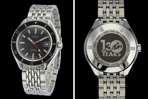 Doxa's Vintage-Style Dive Watch Is Affordable and Awesome