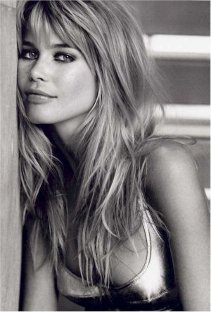 """Claudia Schiffer - One of our favorite models and our all time favorite German model at 5""""8 we are inspired by her every day."""
