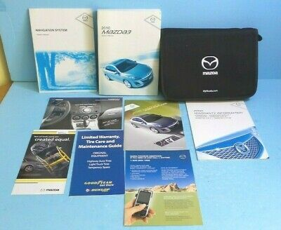 10 2010 Mazda 3 Owners Manual With Navigation In 2020 Owners Manuals Mazda 3 Navigation