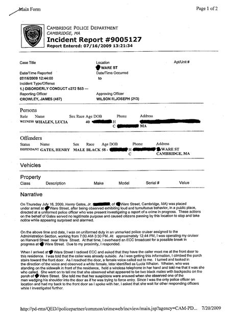 arrest record template Layout Record of Arrest, police file - incident report pdf
