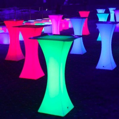 Led Lighted Cocktail Tables Rental In 2020 Cocktail Tables Launch Event Ideas Light Cocktails