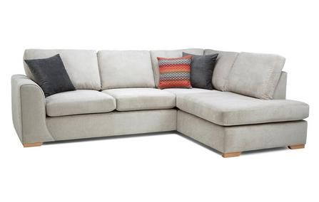 Left Hand Facing Arm Open End Corner Sofa With Images Corner Sofa Bed