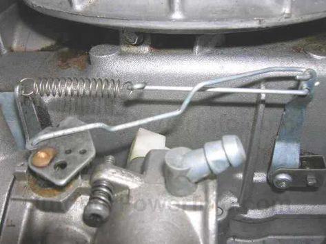 Tecumseh Series 11 Carb Governor Throttle Linkage Tecumseh Engine Tecumseh Repair