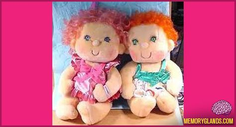 Hugga Bunch Dolls!! I totally had one for my like 7th birthday I think. She was seriously the best.