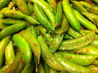 Curried Sugar Snap Peas