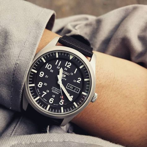 Seiko Military, Seiko Field Watch, SNZG15J1 - buy luxury watches online, male watches online, cheap luxury watches *ad