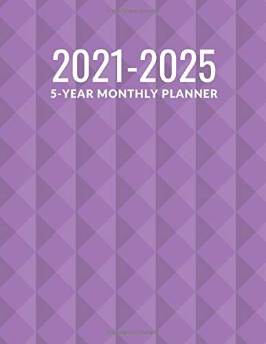 5 Year Monthly Planner 2021 2025 60 Monthly Calendar January 2021 December 2025 Address Book Letter Password Tra In 2020 Monthly Planner Planner Book Letters