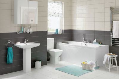 Bathroom Tiles Homebase homebase echo dark grey tiles. | bathrooms | pinterest | grey tiles