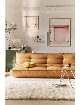 Greta Recycled Leather Xl Sleeper Sofa By Urban Outfitters Retro Home Retro Home Decor Interior