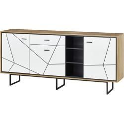 Reduced Sideboards Sideboard White 197 3 Cm 90 3 Cm 40