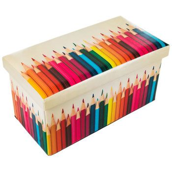 Colored Pencil Storage Ottoman Colored Pencil Storage Pencil