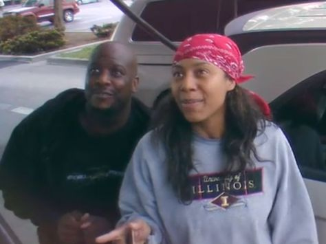 I laughed til I cried. When asked to sing karaoke at a gas pump, this couple didn't just do it. They blew it out of the water and made the whole nation laugh!