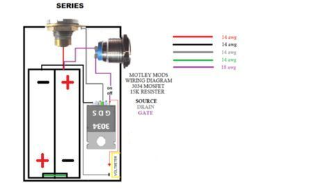 Motley Mods Box Mod Wiring Diagrams,Led Button,Switch Parallel Series,Led  Angel Eye Button,wiring pwm box mod,okr t10,okl t2… | Box mods, Vape mods  diy, Diy box modPinterest