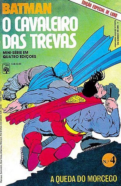 Cover For Batman O Cavaleiro Das Trevas Editora Abril 1987
