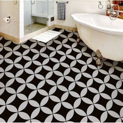 Floor Stencils Reusable Floor And Tile Stencils For Painting Floors In 2020 Tile Bathroom Tile Stencil Bathroom Tile Designs